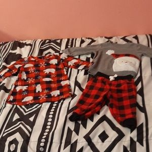 💚2 Pack Plaid Christmas Sleep sets